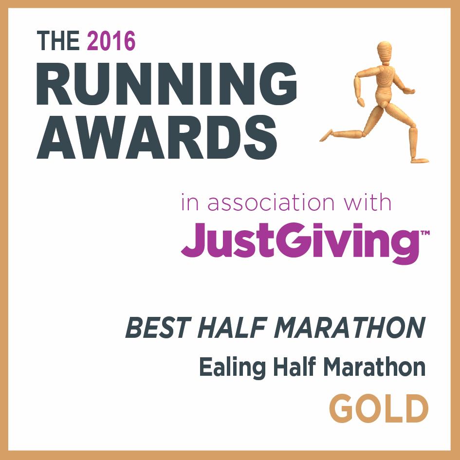 Best half marathon 2016_EHM_Gold